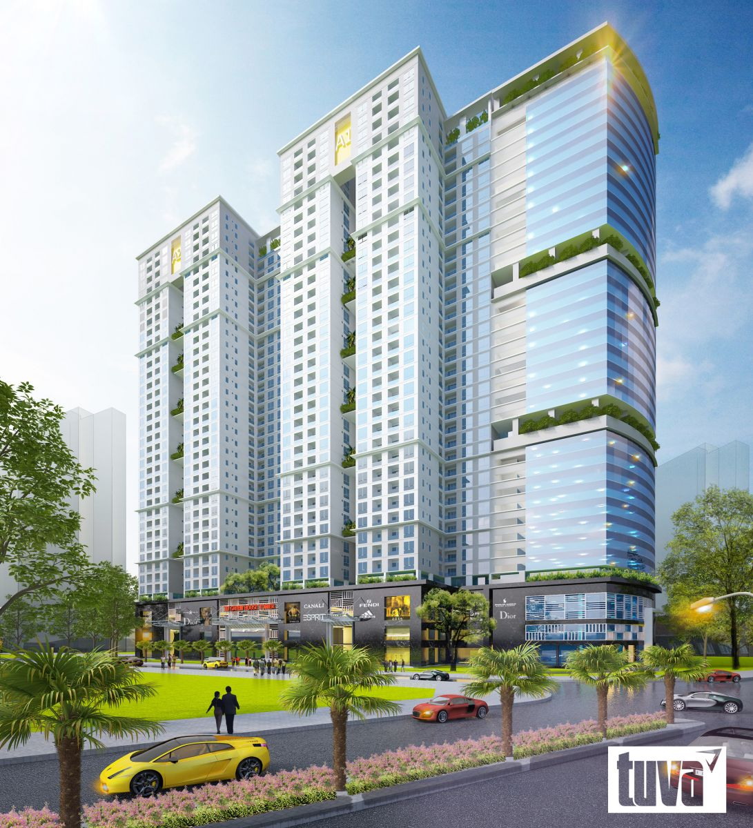 tổng thể ecolife capitol